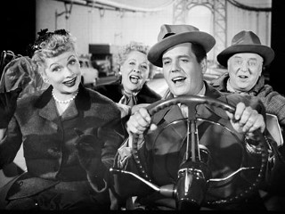 """""""I Love Lucy"""" promo shot CBS Television / Desilu Productions"""