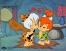 Bamm-Bamm Rubble and Pebbles Flintstone Hanna-Barbera/ Warner Brothers