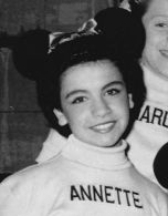Annette Funicello as a Mouseketeer, circa 1956 TV Radio Mirror
