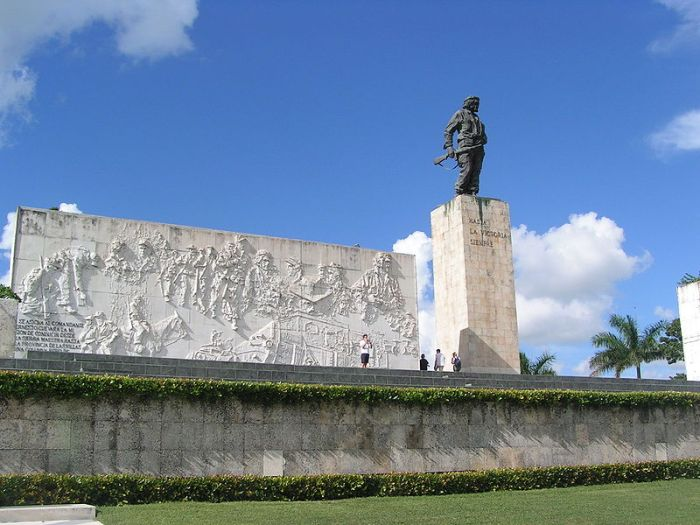Che Guevara's Monument and Mausoleum in Santa Clara, Cuba. Photo via Wikipedia user Man-ucommons