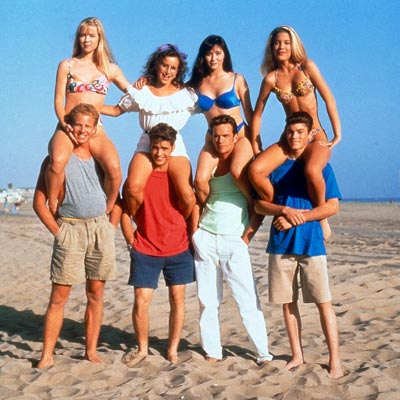 "Cast of ""Beverly Hills, 90210"" Fox"