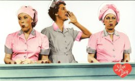 The infamous scene where Lucy and Ethel get a job at a chocolate factory CBS Television / Desilu Productions