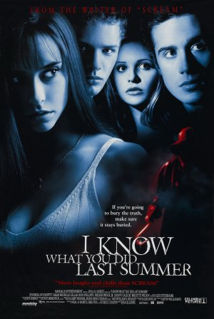 """I Know What You Did Last Summer"" theatrical poster Columbia Pictures"