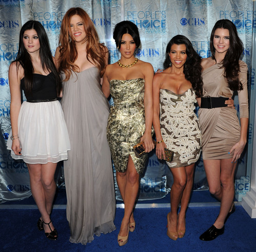 Kylie Jenner, Khloe Kardashian, Kim Kardashian, Kourtney Kardashian, and Kendall Jenner AP Photo
