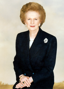 Margaret Thatcher via Margaret Thatcher Foundation