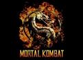 """Mortal Kombat"" logo Warner Brothers Entertainment"
