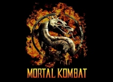 """Mortal Kombat"" logo Warner Brothers Entertainment"