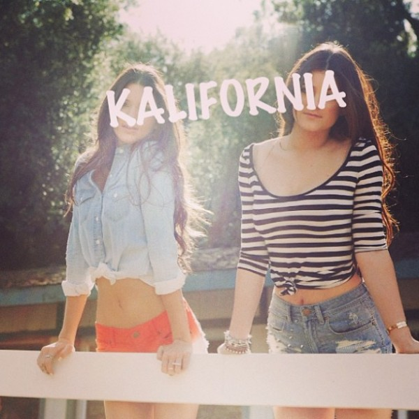 Kendall and Kylie Jenner Promotional Campaign for PacSun PacSun