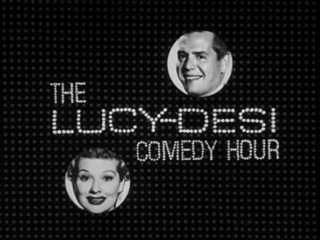 """""""The Lucy-Desi Comedy Hour"""" title intro Desilu Productions/CBS"""