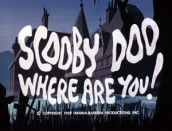 """""""Scooby Doo, Where Are You!"""" intro title Hanna-Barbera"""