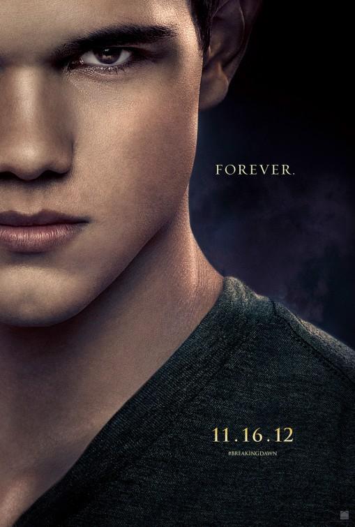 Taylor Lautner as Jacob Black  Lionsgate/Summit Entertainment