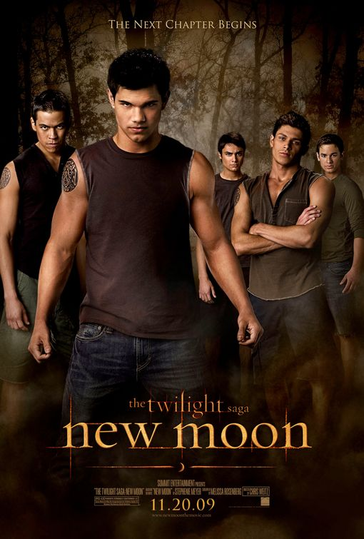 "The wolf pack in ""The Twilight Saga: New Moon"" Summit Entertainment"