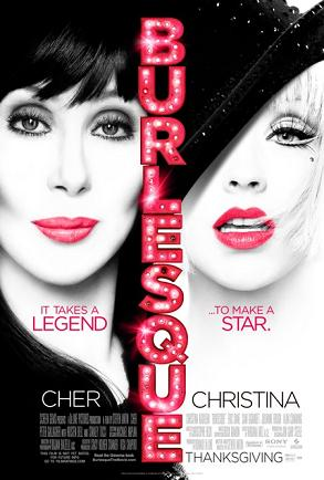 """Burlesque"" starring Christina Aguilera and Cher Screen Gems"