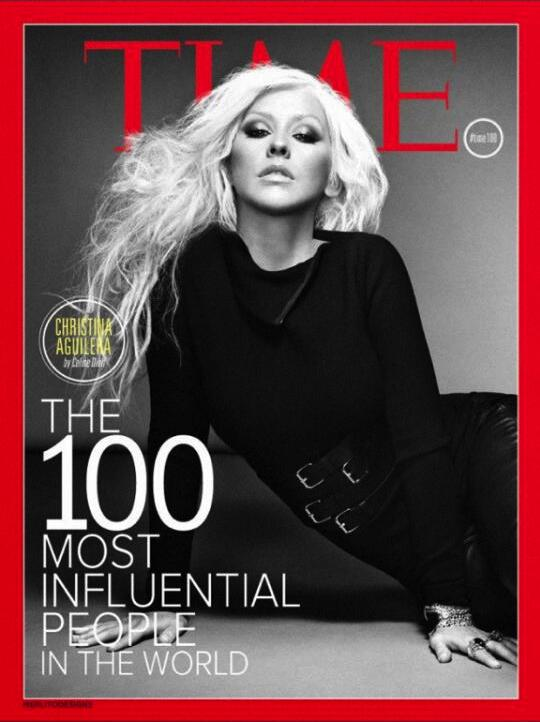 Christina Aguilera on TIME's 2013 Most Influential List www.twitter.com/xtina