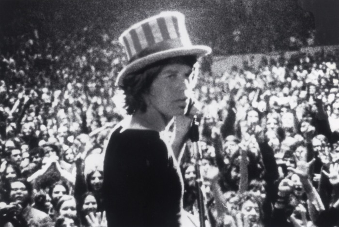 "Mick Jagger at ""Altamont"" AP Photo"