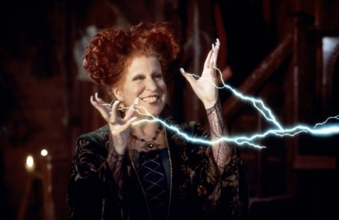 "Bette Midler as Winifred ""Winnie"" Sanderson in the 1993 film ""Hocus Pocus"" Walt Disney Pictures / Buena Vista Pictures"
