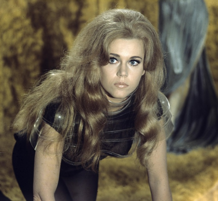 "Jane Fonda in the 1968 science-action film ""Barbarella""  Paramount Pictures"