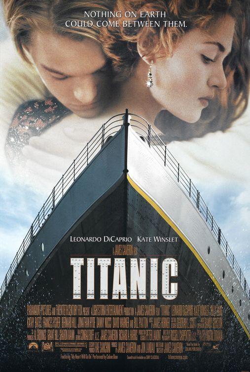 "Theatrical poster for ""Titanic"" 20th Century Fox / Paramount Studios"