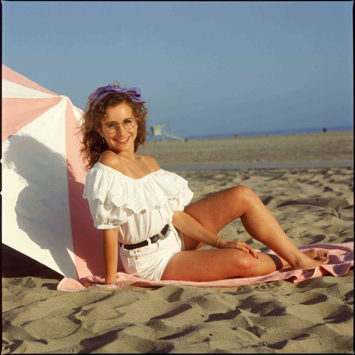 "Gabrielle Carteris as ""Andrea Zuckerman"" on ""Beverly Hills, 90210"" FOX / Spelling Television"