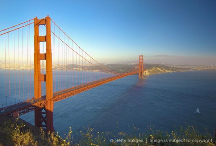 Golden Grate Bridge Getty Images