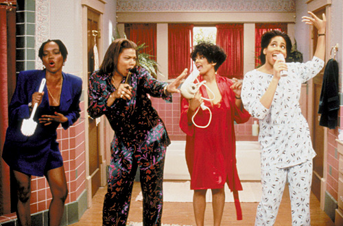 "Erika Alexander, Queen Latifah, Kim Fields, and Kim Coles of ""Living Single"" Oxygen / FOX"