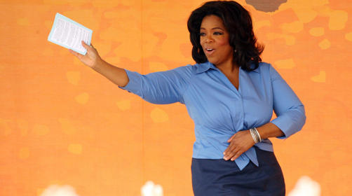 Oprah  Getty Images