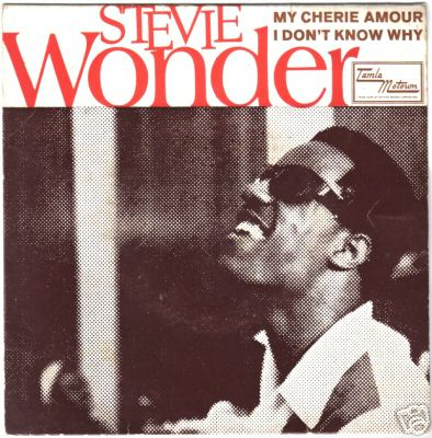 """My Cherie Amour"" by Stevie Wonder Motown Records"
