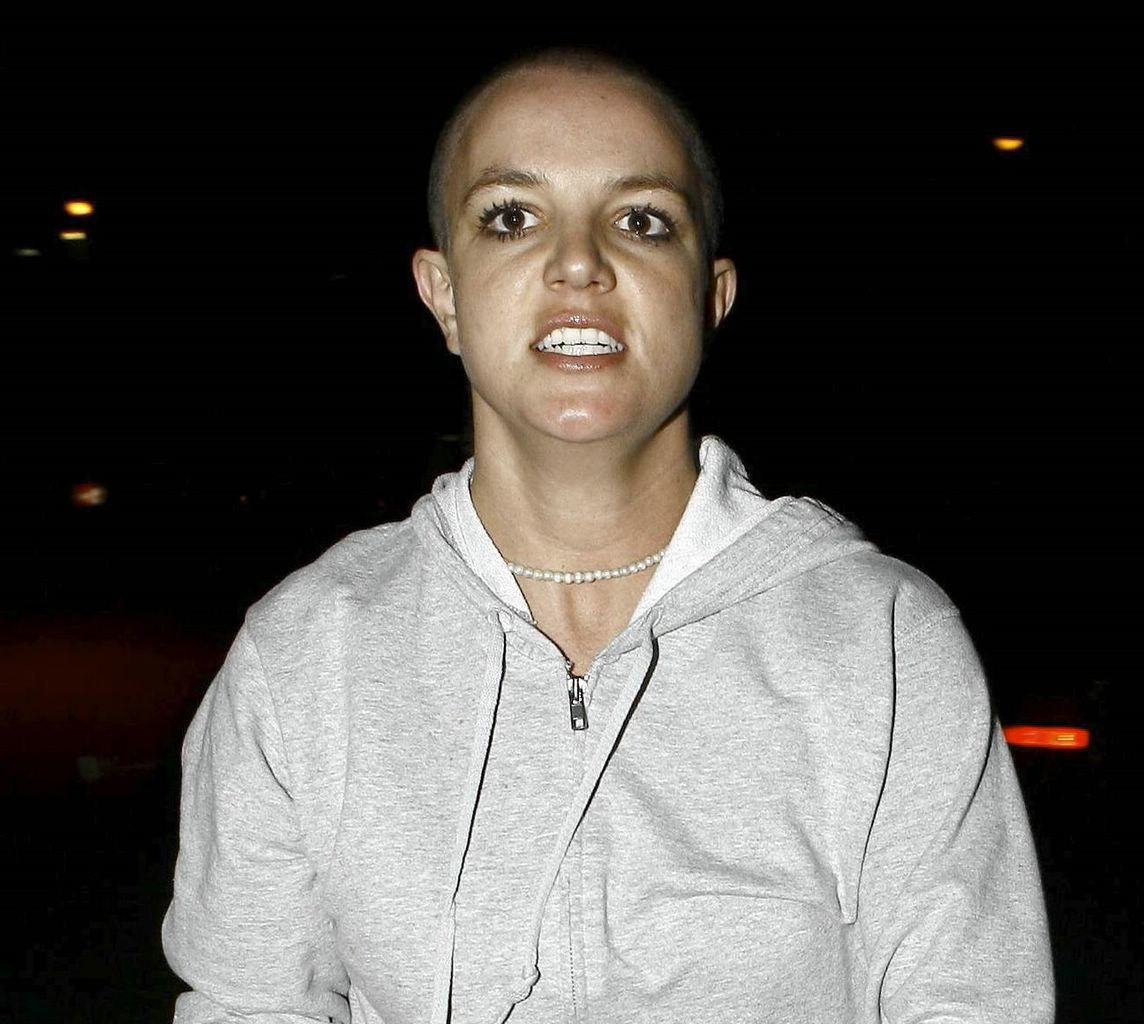 Brittney Spears Shaved Head