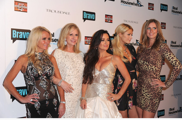 Kim Richards, Kathy Hilton, Kyle Richards, Paris Hilton, Nicky Hilton Alberto E. Rodriguez/Getty Images
