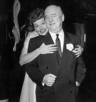 Lucille Ball and William Frawley AP Photo