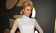 Paris Hilton at the 2014 Grammys     Lester Cohen/WireImage