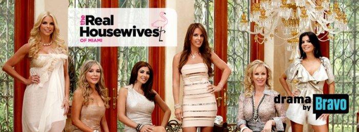 Season one cast: Alexia, Larsa, Kristy, Lea, and Adriana https://www.facebook.com/RealHousewivesofMiami / Bravo