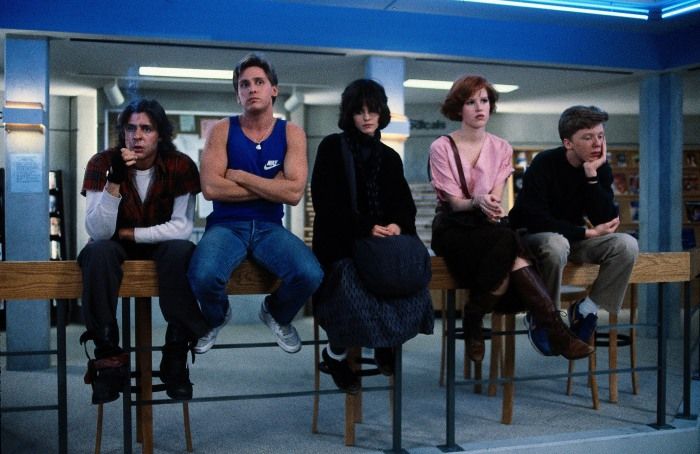 "in ""The Breakfast Club."" Universal Studios"