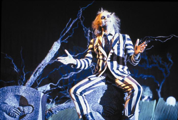 Michael Keaton as Beetlejuice Warner Brothers
