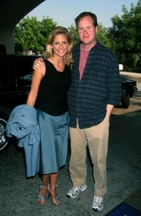 Sarah Michelle Gellar and Joss Whedon  WireImage