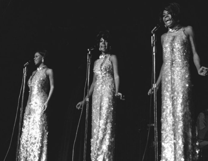 The Supremes performing at the Frontier Hotel in Las Vegas in 1969 Las Vegas News Bureau
