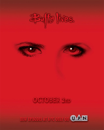 "UPN ""Buffy lives"" Promo United Paramount Network / 20th Century Fox Television"
