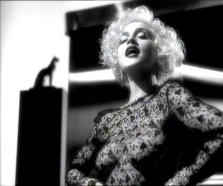 "Still of Madonna from the ""Vogue"" music video  Sire Records / Warner Brothers Records"