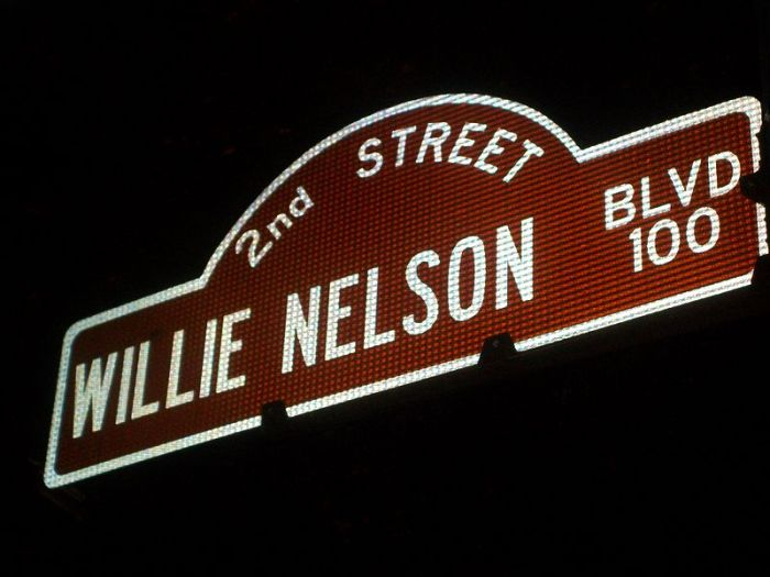 Willie Nelson Blvd http://www.flickr.com/photos/bdunnette/4760750460/
