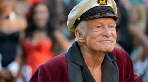 Hugh Hefner Getty Images