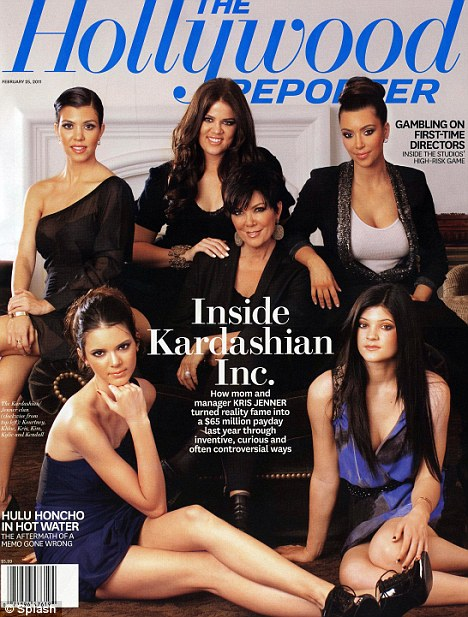 The Kardashian and Jenner Sisters, along with their mother, Kris The Hollywood Reporter
