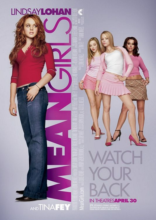 """Mean Girls"" theatrical poster Paramount Pictures"