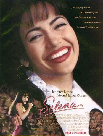 "Theatrical poster for ""Selena"" Warner Brothers Pictures"