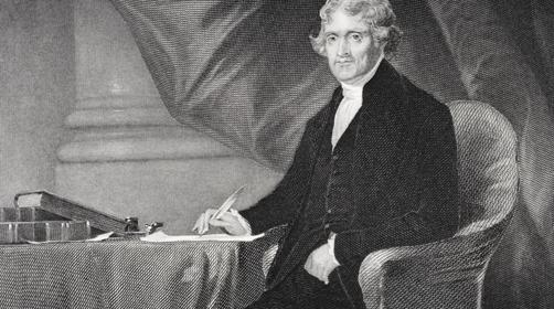 Thomas Jefferson  Getty Images