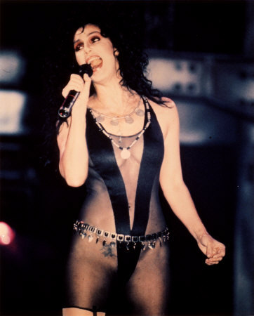 Cher in the music video to