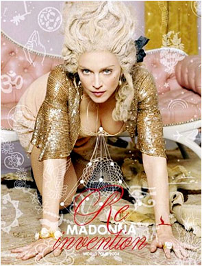Promotion poster for Madonna's