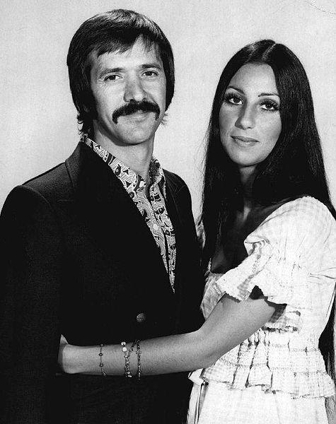 Cher alongside Sonny Bono CBS Television