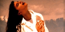 "Alanis Morissette in her ""You Oughta Know"" video Maverick Records/Reprise Records"