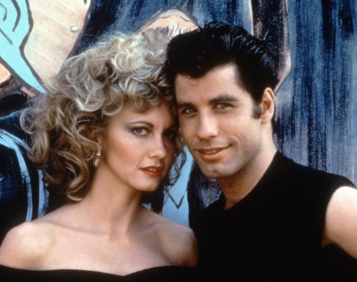 Olivia Newton-John and John Travolta Paramount/Courtesy Everett Collection