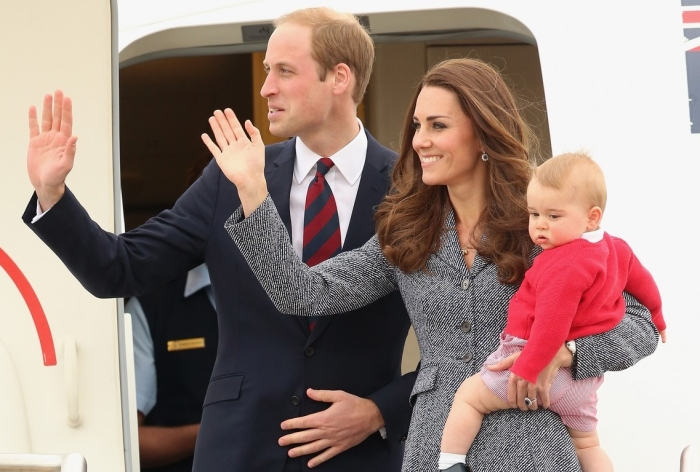 Catherine, Duchess of Cambridge, Prince William, Duke of Cambridge, and Prince George of Cambridge Chris Jackson/Getty Images